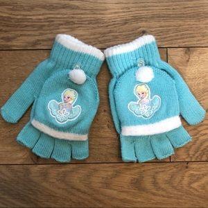 Disney Elsa Frozen glove mittens